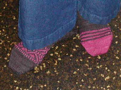Finished Footlets