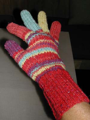 Nonaknits Project Gloves
