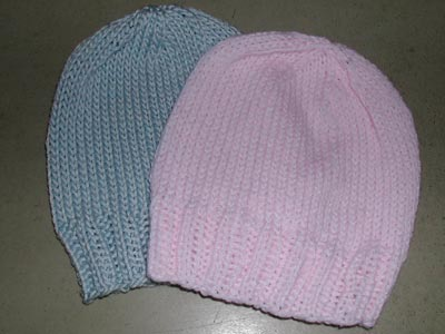 This simple hat is perfect for welcoming a newborn baby into the world. If  knitting a hat to donate to your local hospital db57a707c4f